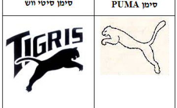 הפרת סימן מסחר מעוצב PUMA